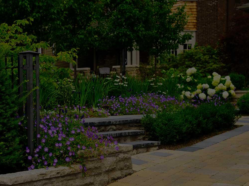 Columbus Commercial Garden Design